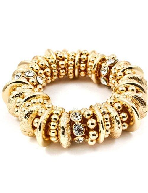 Mixed Beads Crystal Bracelet
