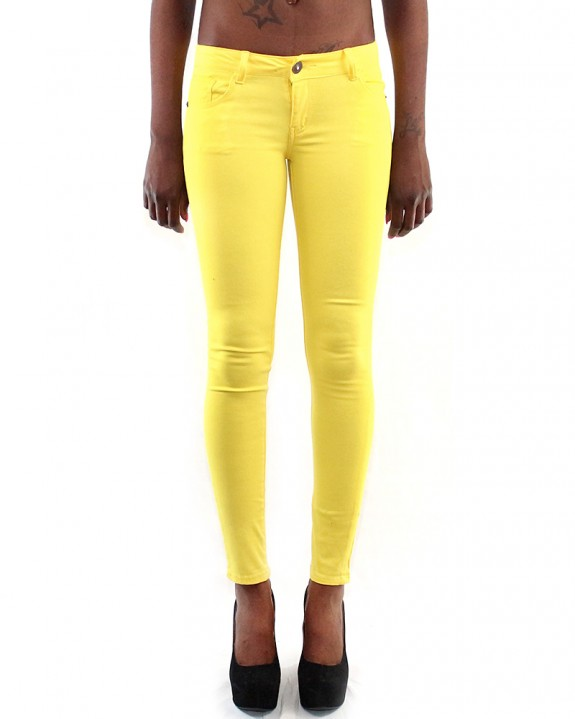Yellow-Jeans-Front