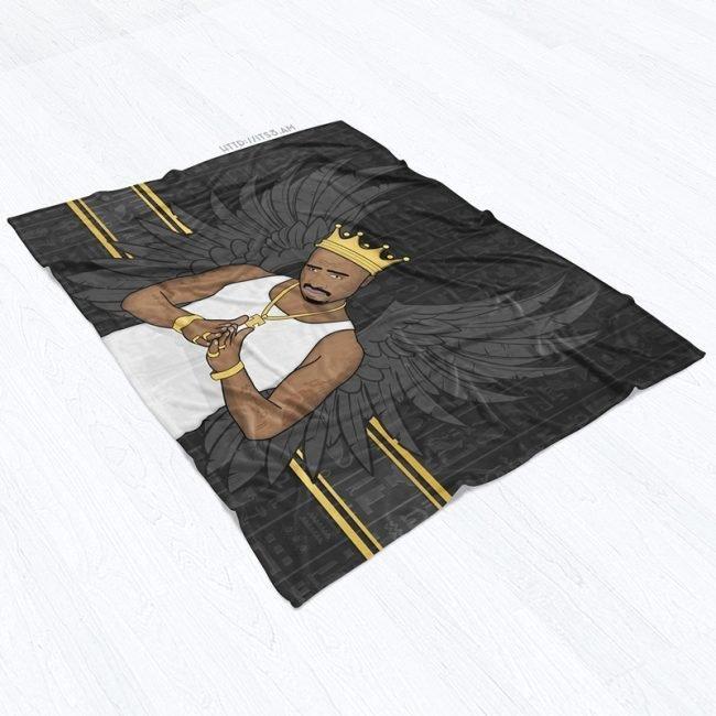 King Tupac Blanket