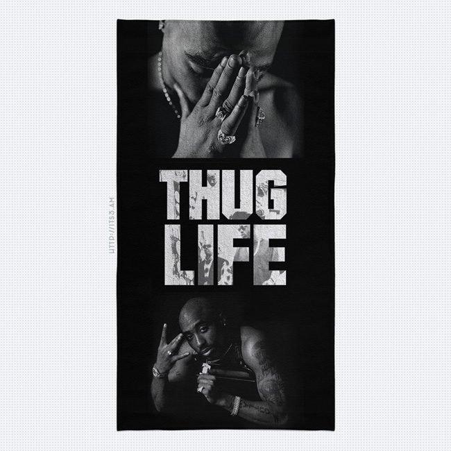 Thug Life Towel