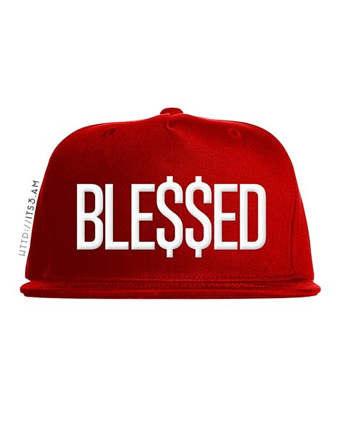 Blessed Snapback - Red