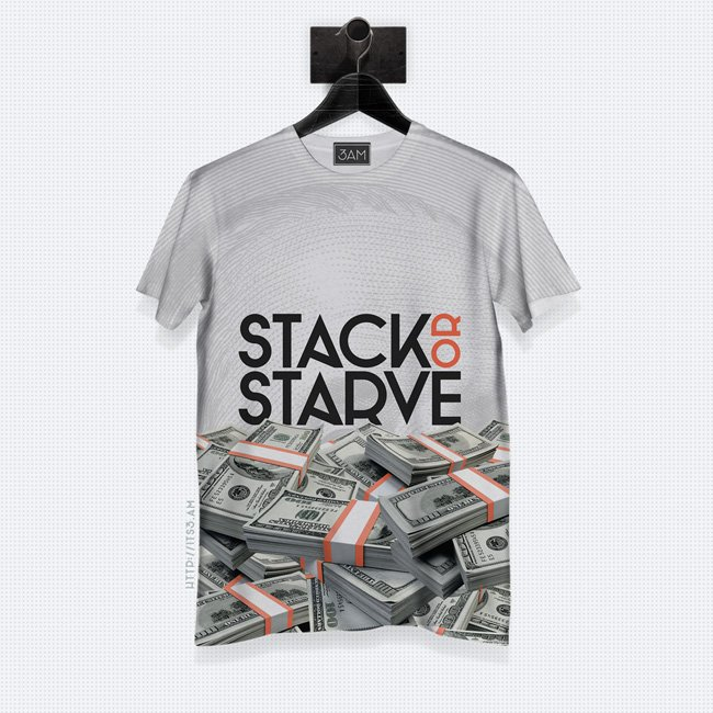 Stack or Starve Classic T-shirt