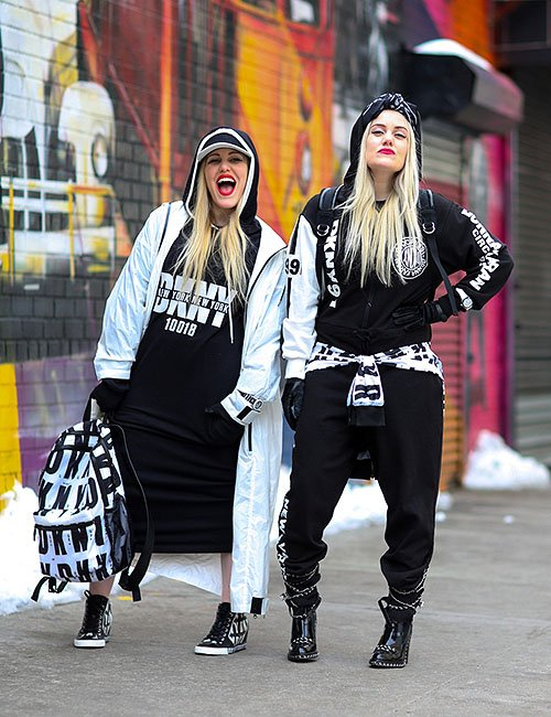 Black & White Outfits