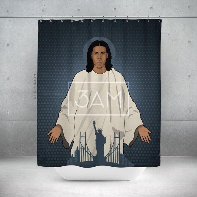 Jayhovah Shower Curtain