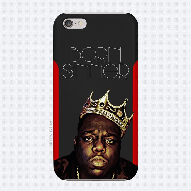 Born Sinner Phone Case