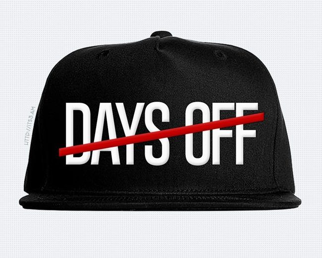 No Days Off Snapback