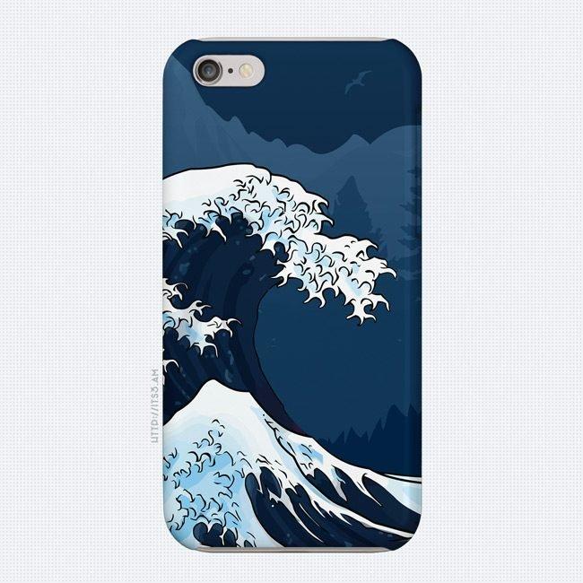 Wavy Phone Case