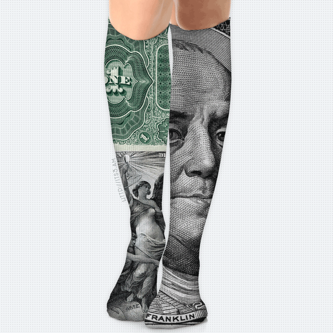 All About the Money Socks