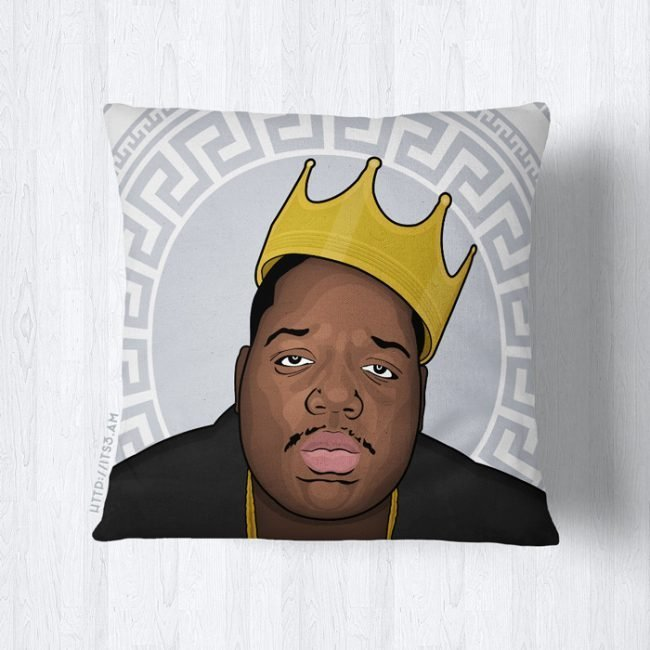 King of New York Biggie Pillow