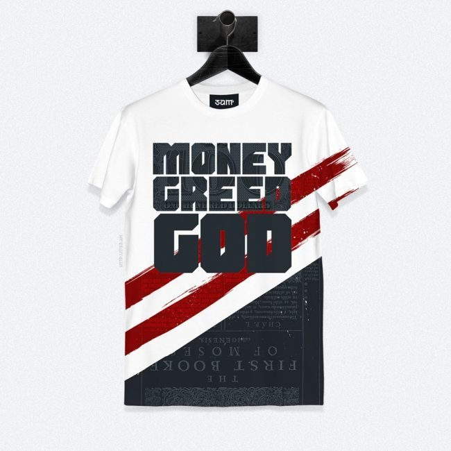 God Greed Money T-shirt