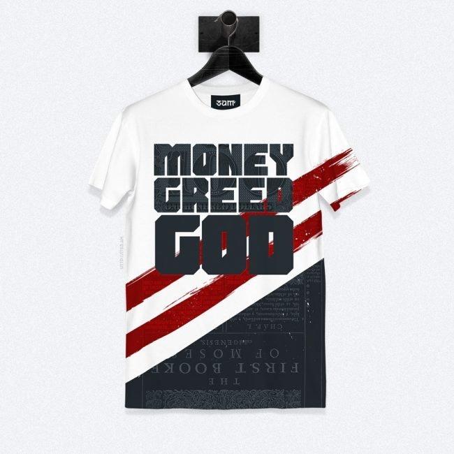 God Greed Money T-shirt