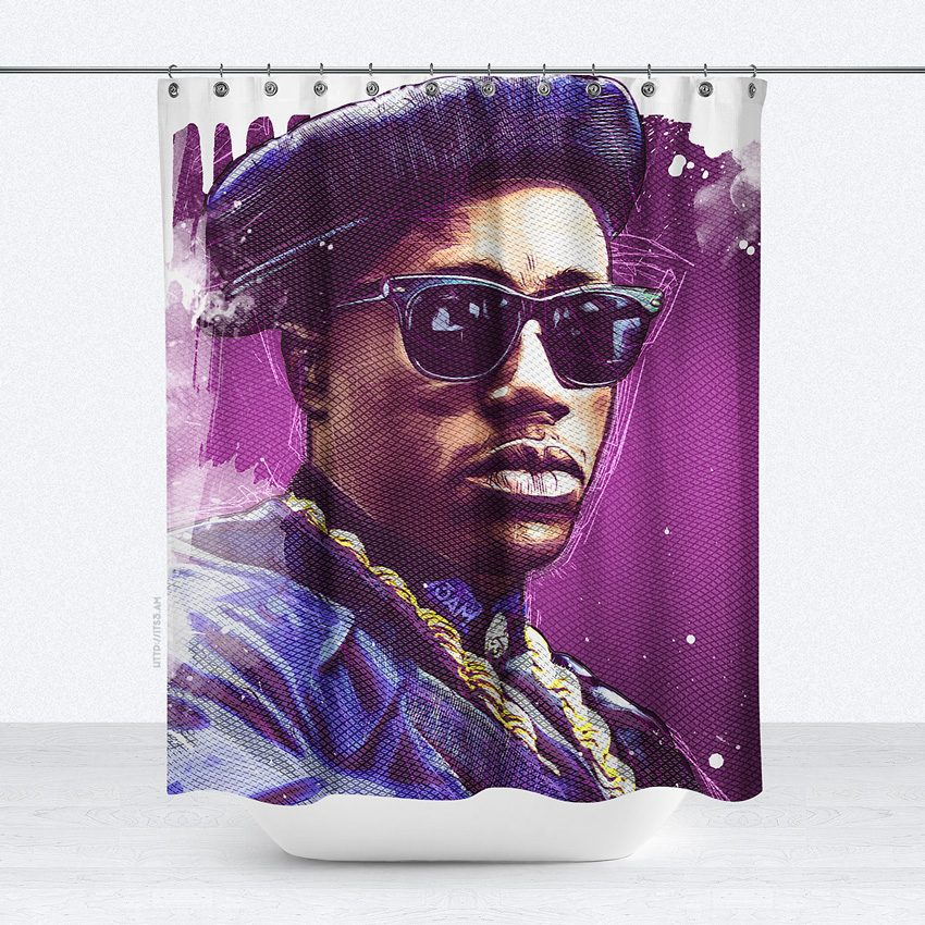 New Jack Hustler Shower Curtain