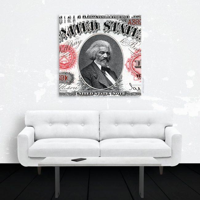 Black Wall Street Canvas Print