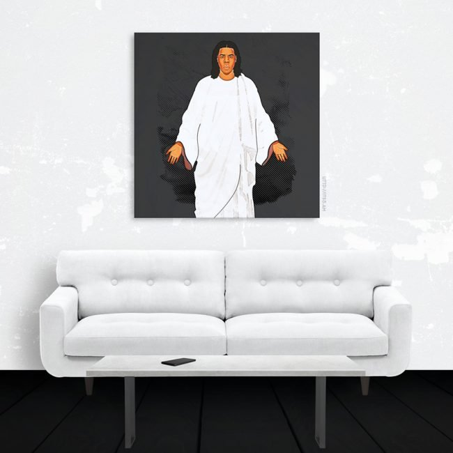 God MC Canvas Print