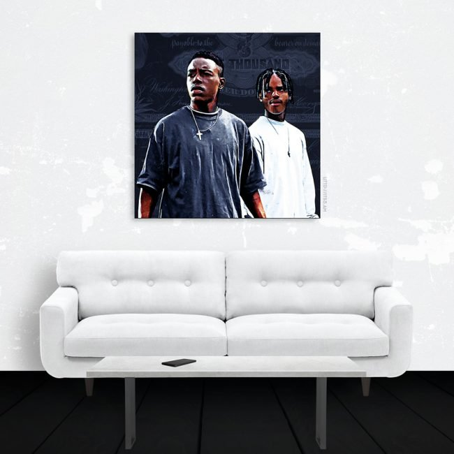 Menace Canvas Print