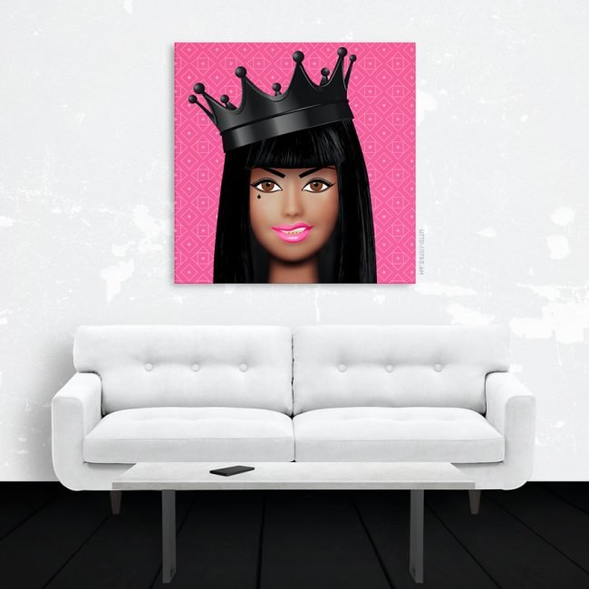 Trap Queen Canvas Print